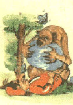 داستان مولوی دوستی خرس