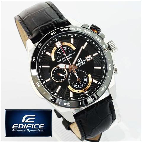 ساعت بند چرم کاسیو اصل مدل EFR-520