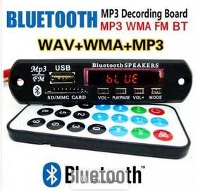 ماژول MP3 پلیر فش خور بلوتوث ضبط