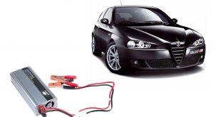 اینورتر مبدل برق ماشین