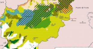 نقشه قومی افغانستان